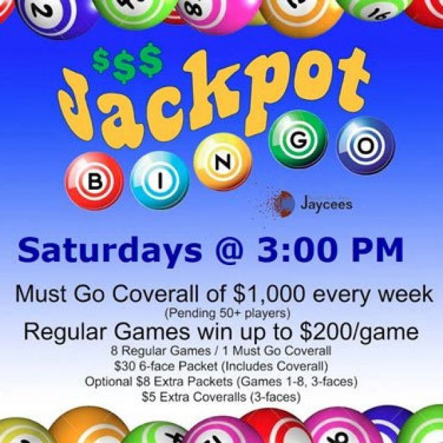 Jackpot Bingo – Poor Richards Bloomington